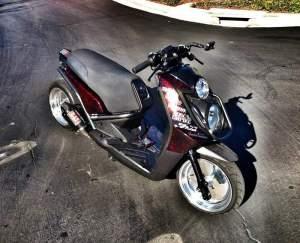 Yamaha Zuma modification (6)