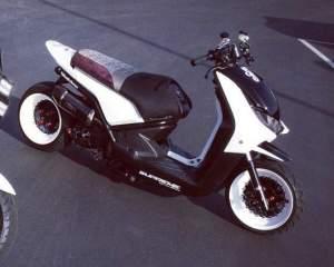 Yamaha Zuma modification (70)