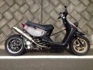 Yamaha Zuma modification (8)