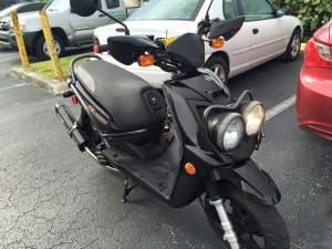 Yamaha Zuma modification (87)