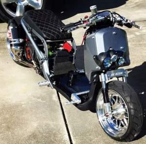 Yamaha Zuma modification (88)