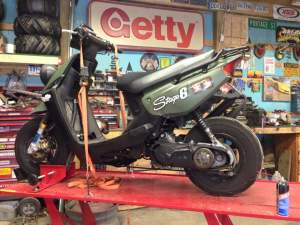 Yamaha Zuma modification (9)