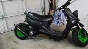 Yamaha Zuma modification (90)