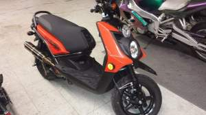 Yamaha Zuma modification (92)