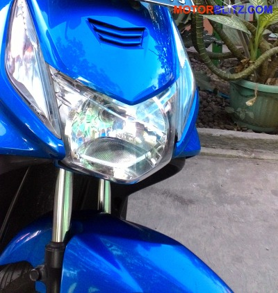 honda beat karbu 2009 biru
