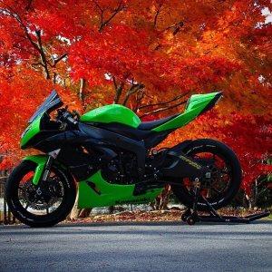 kawasaki ninja Zx6R (10)