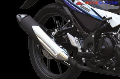 Suzuki Satria FU150 knalpot