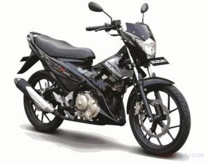 Suzuki Satria FU150 R hitam