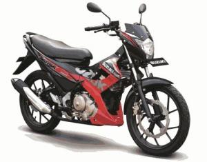 Suzuki Satria FU150 R merah