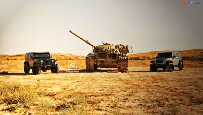 tank & jeep