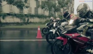 vixion vs cb150r, satria fu vs mx king 8k