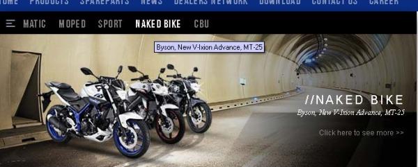 Yamaha nakedbike (2)