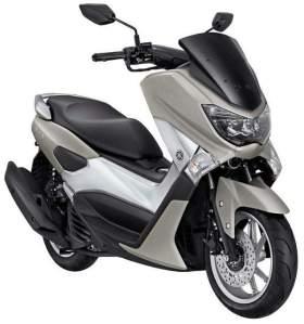 Yamaha NMAX non ABS warna abu