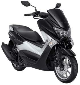 Yamaha NMAX non ABS warna hitam
