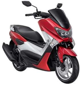 Yamaha NMAX non ABS warna merah