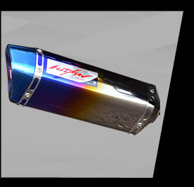 Aksesoris MT25-Hitman-muffler-anodized