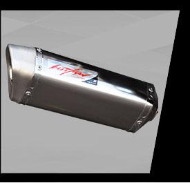 Aksesoris MT25-Hitman-muffler-titanium