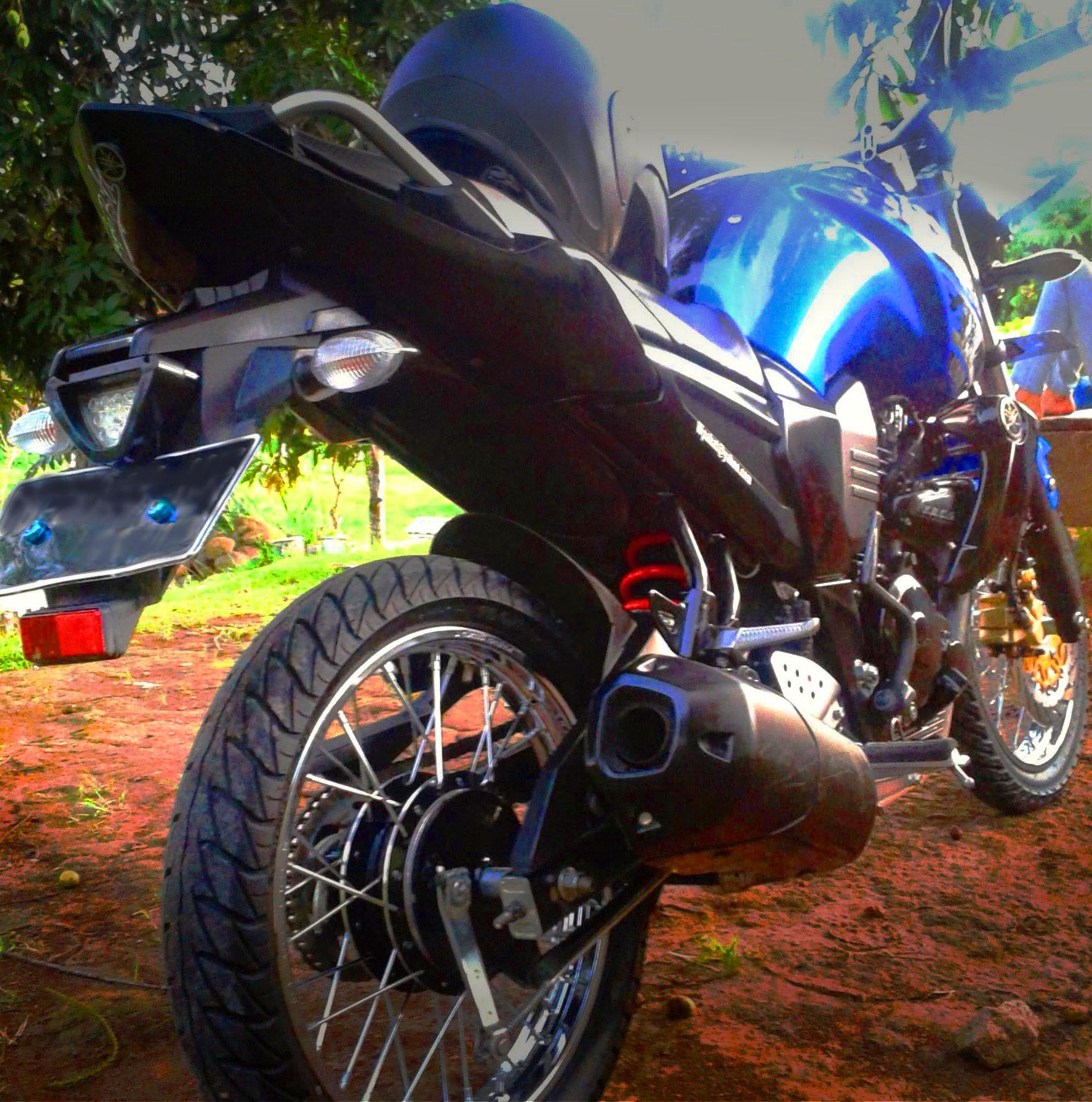 103 Modifikasi Motor Vixion 2015 Velg Jari Jari Modifikasi Motor