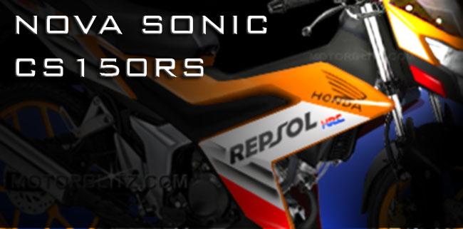 Honda sonic 150 honda k56 repsol cs150rs
