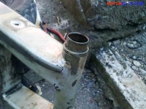 pinggir bearing laher keluar