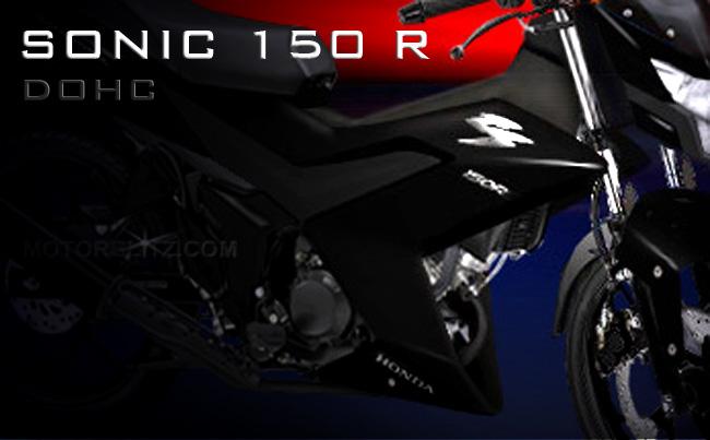 sonic 150 R black devil
