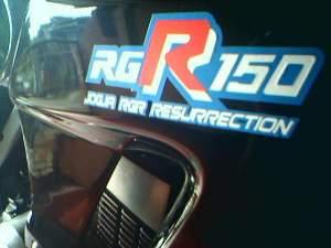 Suzuki rg 150 r