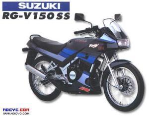 Suzuki rg 150 ss