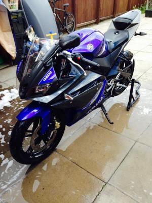 Yamaha R125 asli (4)