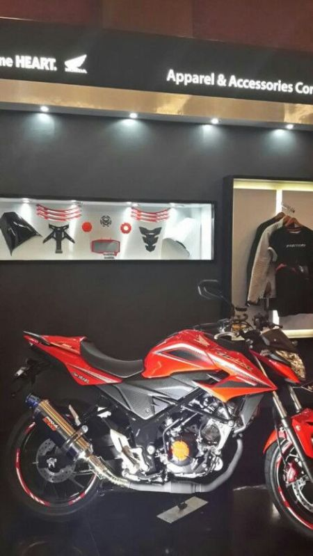 aksesoris all new CB150R 2015