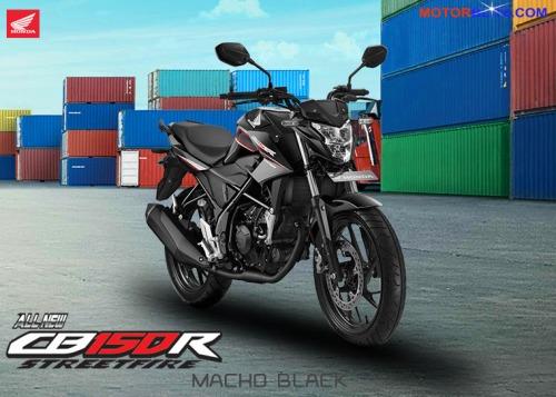 CB150R 2015 warna hitam