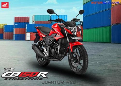 CB150R 2015 warna merah