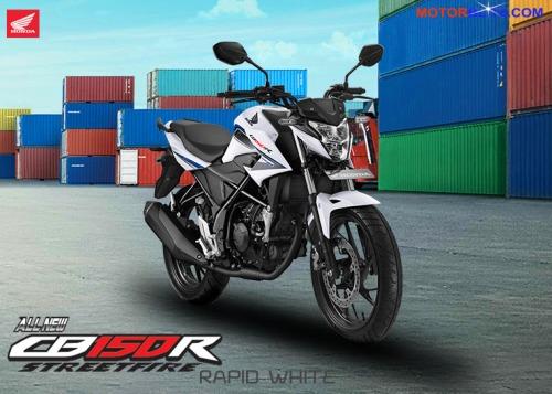 CB150R 2015 warna putih