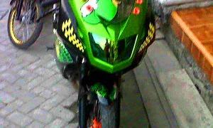 headlammp motor pelangi ninja 150