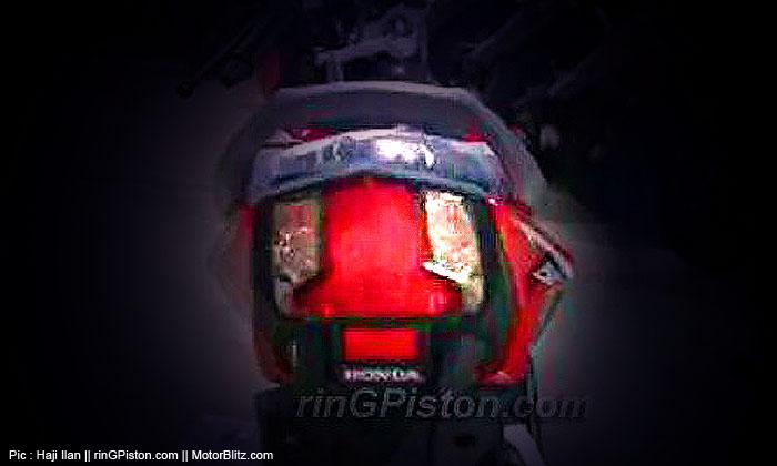 Honda sonic 150 Agustus 2015