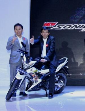 Honda sonic 150R