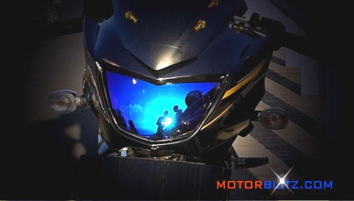 kaca pelangi lampu ninja 150r