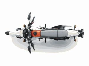 New Kawasaki D-Tracker 150 orange (2)