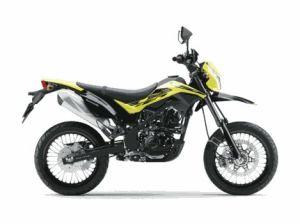 New Kawasaki D-Tracker 150 orange kuning (10)