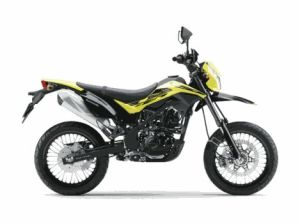 New Kawasaki D-Tracker 150 orange kuning (10)