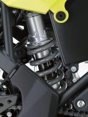 New Kawasaki D-Tracker 150 orange kuning (4)
