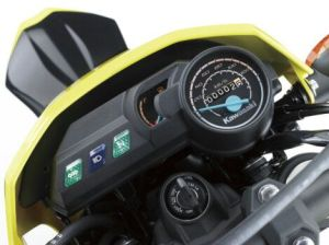 New Kawasaki D-Tracker 150 orange kuning (6)
