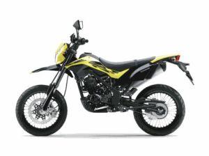 New Kawasaki D-Tracker 150 orange kuning (8)