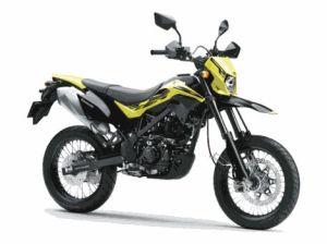 New Kawasaki D-Tracker 150 orange kuning (9)