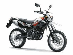 New Kawasaki D-Tracker 150 orange