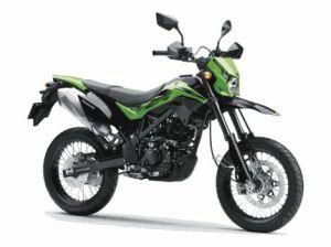 New Kawasaki D-Tracker 150 versi se