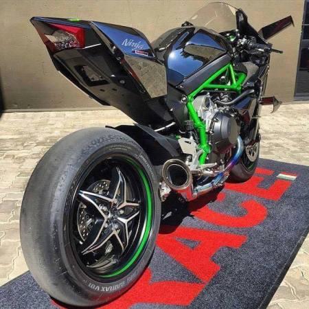 Ninja H2R tail