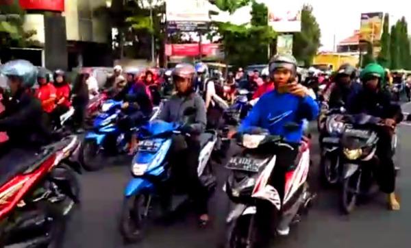 sepeda hadang moge 2