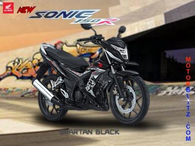 sonic 150 warna hitam