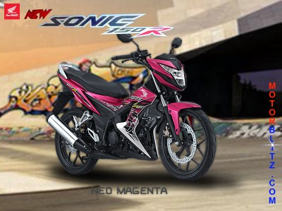 sonic 150 warna pink magenta