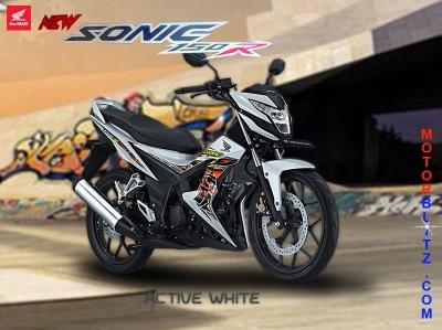 sonic 150 warna putih